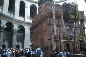 Tomb of Jesus in the Church of the Holy Sepulchre