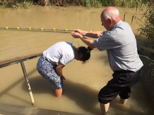 Blessing in the Jordan River