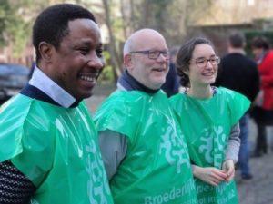 Solidarity activity at Sint-Kwinten on Palm Sunday 2019