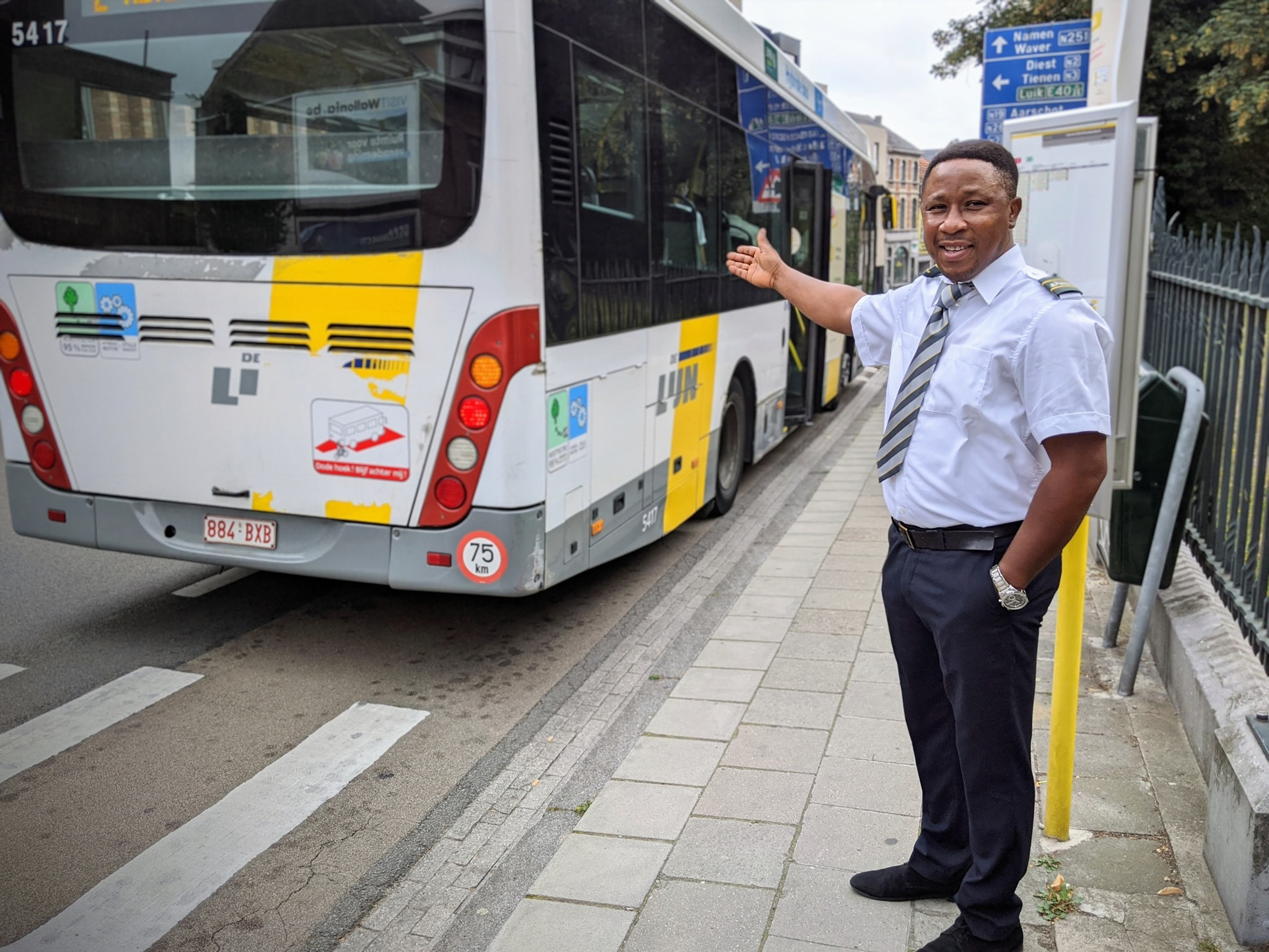 The life of a bus driver in these confusing times